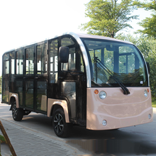 Modern electric tour shuttle bus sightseeing car with CE certification
