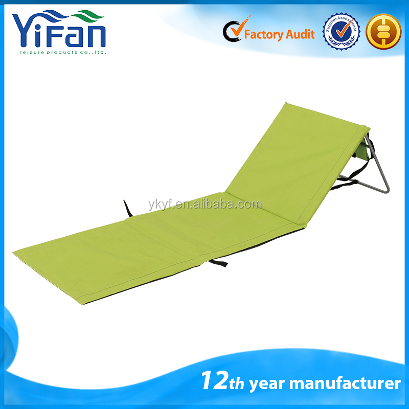 Easy carry Foldable steel Beach Mat