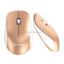hot selling Cheap wholesale Computer Accessory Rainbow streamline Optical Precise Tracking Wireless Mouse