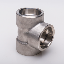High pressure SW tee carbon steel forged pipe fitting