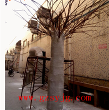 high simulation china large outdoor ornamental baobab trees for sale