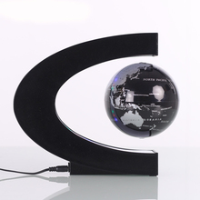 Promotion magnetic gifts Customized 8 inch big rotating magnetic levitation display