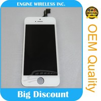 High Quality Wholesale LCD With Digitizer Assembly for iphone 5c lcd