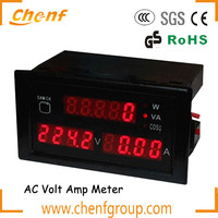 Hot! Digital Ammeter voltmeter lcd digital volt panel meter