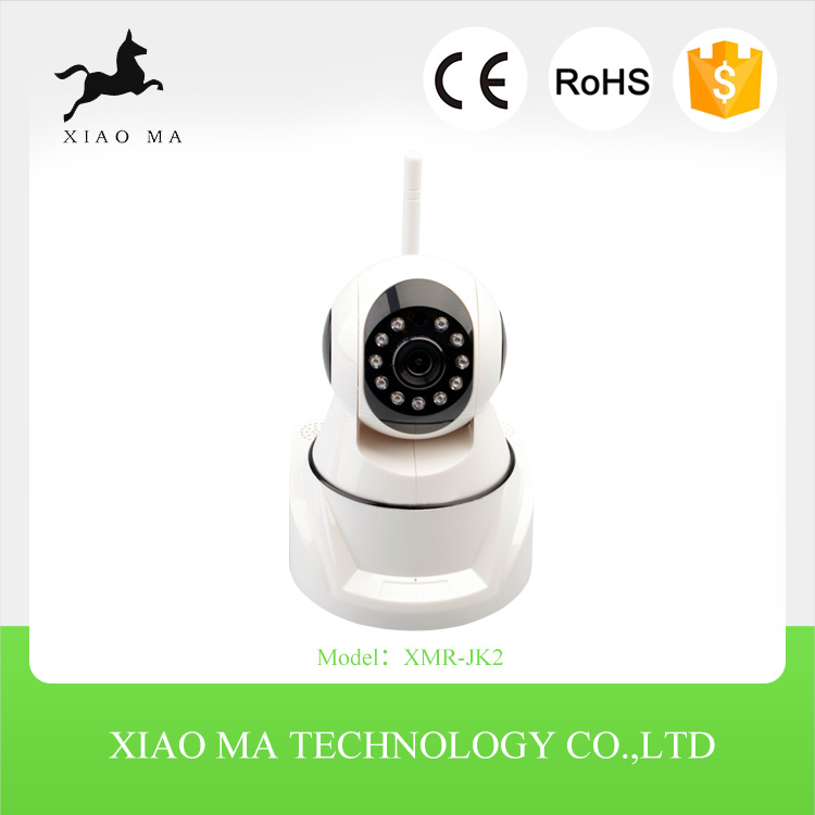 Most competitive 10m IR Distance P2P and Motion detection Alarm 1280*720P support phone view portable wireless ip camera XMR-JK2