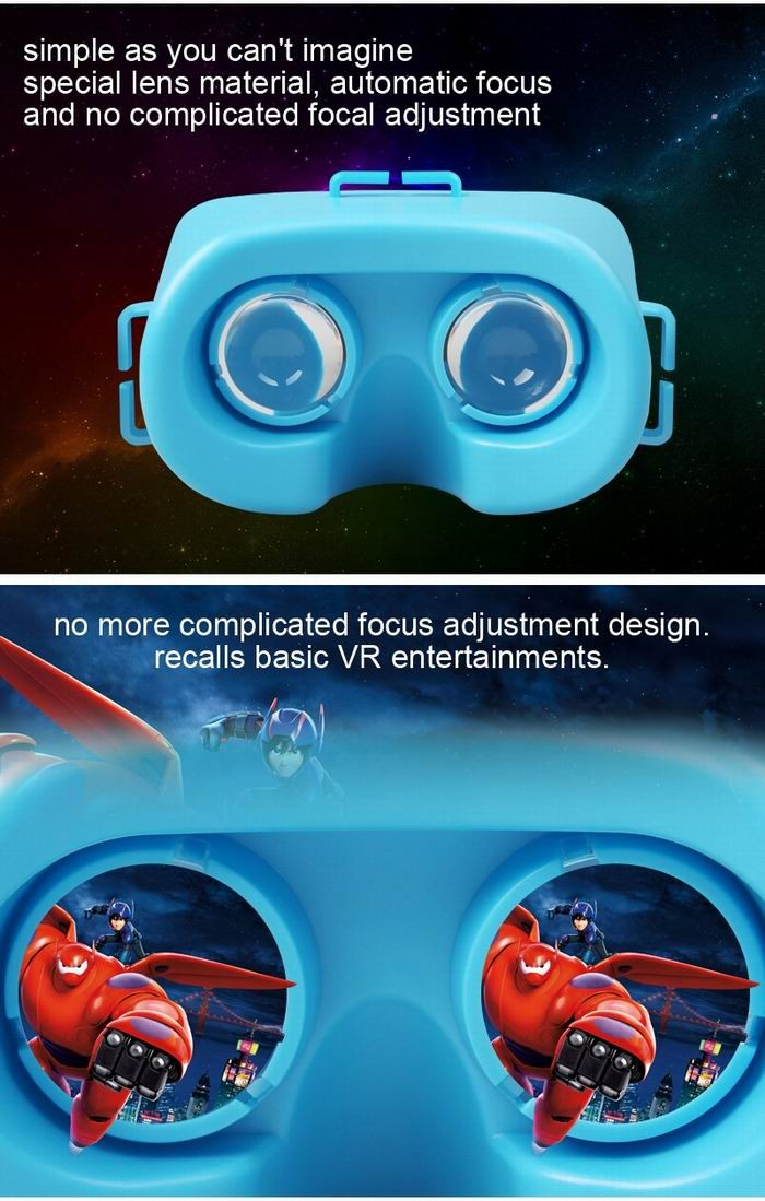 original factory all in one 360 vr camera 3d glasses box