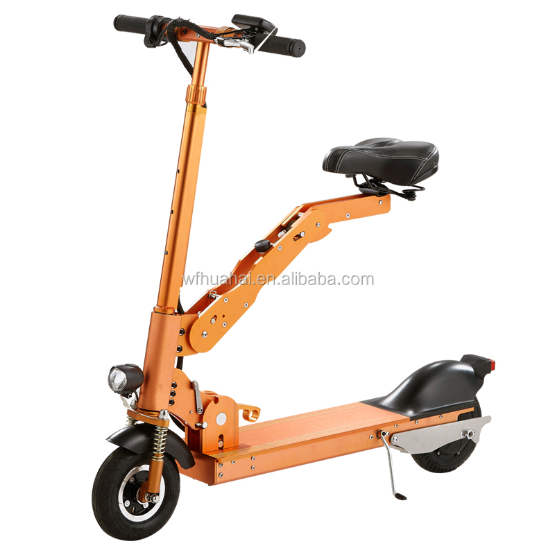 Electric motor scooters for adults for Folding motorized scooter for adults