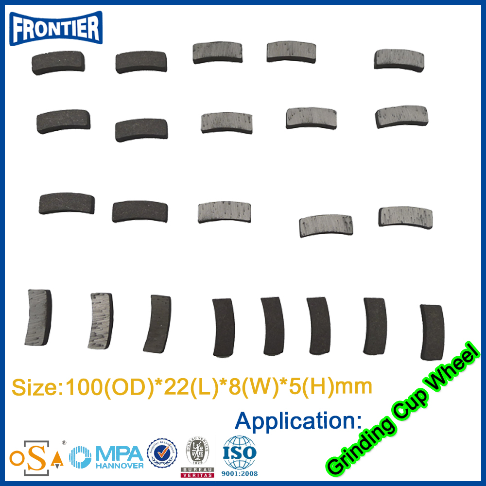 China high strength modern professional cheapest gang saw blade diamond segment