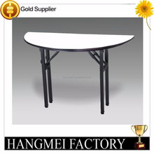 Foldable Half Moon Banquet Table
