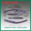 Smoke F150 Window Visor Vent Shade Rain/Sun/Wind Guard