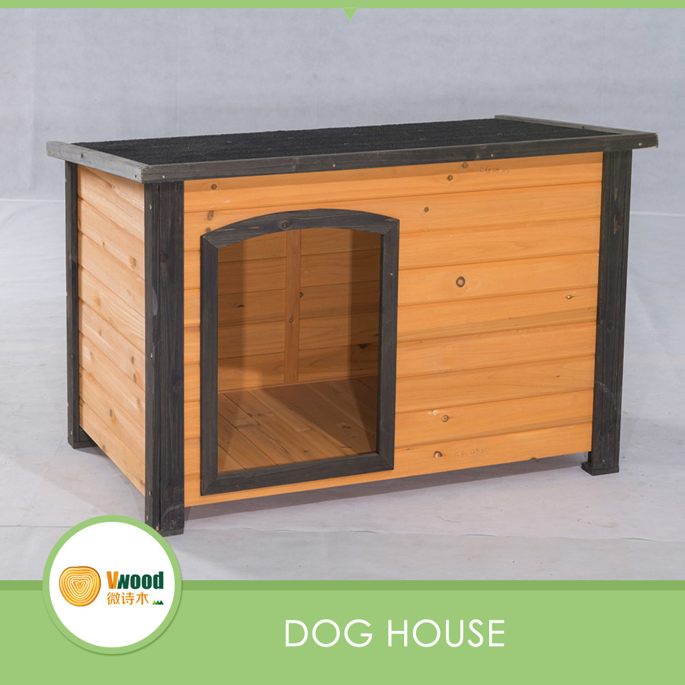 Outdoor Water-proof Wooden Boxer Small Dog Kennel