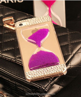For iphone 6 Apple pc diamond case , for iphone 6 hourglass clock case