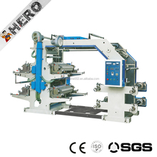 Four Color polypropylene plastic bag flexprinting machine t shirt printing machines for sale