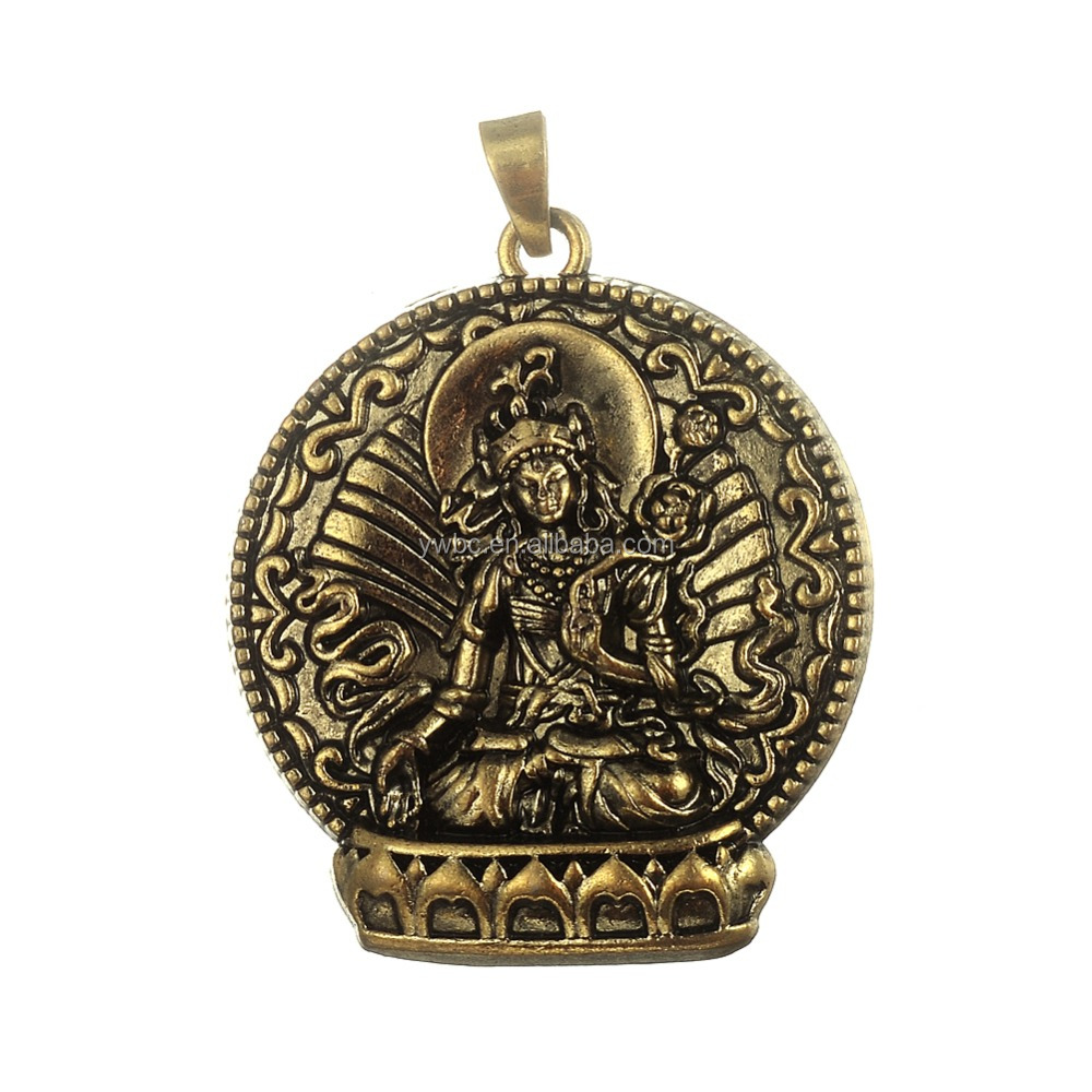 Hot sale Good Luck Necklace Buddha <strong>charms</strong> religious Tai Amulet Buddha <strong>charms</strong> jewelry