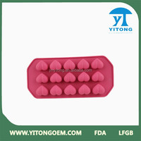 Jiangmen distributor valentine's day silicone chocolate molds