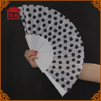 Hot Unique Gift Chinese Fabric Plastic Ribs Hand Held Fans GYS909-4