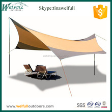 Rip-stop Windproof Folding Outdoor Canopy for Camping