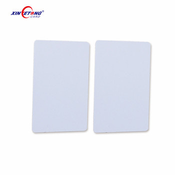 Low Cost Plastic PVC ID Blank Smart Chip Inkjet Printable RFID NFC Cards for Printers