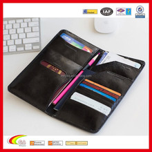 Travel Leather Passport Wallet Holder for Wholesale, Best Selling PU Leather Passport Wallet with Pen Loose