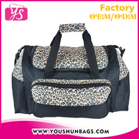 Expandable fashion cheap 600D polyester bags luggages travel
