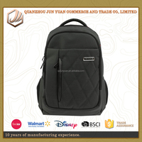 Fashion minimalist nylon laptop backpack bag for business mens