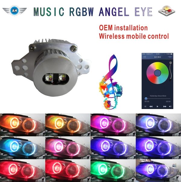 Hot Sale 10w LED Marker Angel Eyes For B_M_W E90/E91, Super Bright 850lm Car Accessories No Error