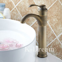 Antique Kitchen Brass Bathroom Faucet/ High Quality Water Tap