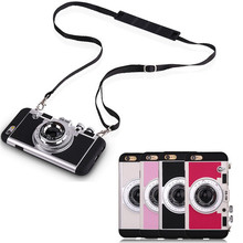 2017 Camera Wholesale Cell Phone <strong>Case</strong> For iphone Long Strap Rope Creative Ring <strong>Case</strong> Phone For Mobile Phone
