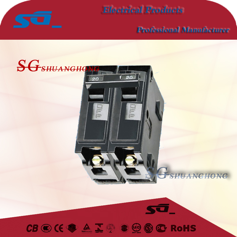 MEMS Mini Circuit Breaker single phase SP DP TP
