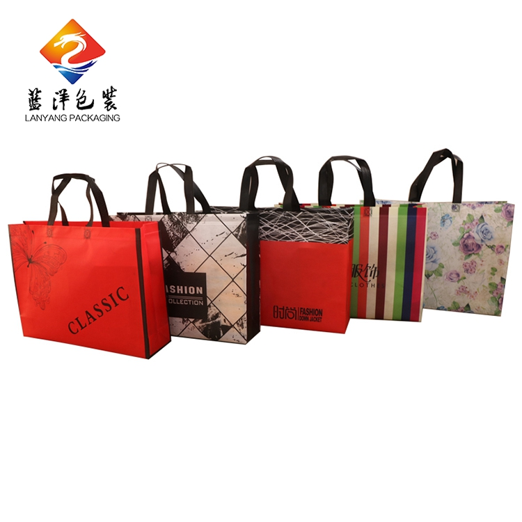 New design durable own logo non-woven shopping tote bag