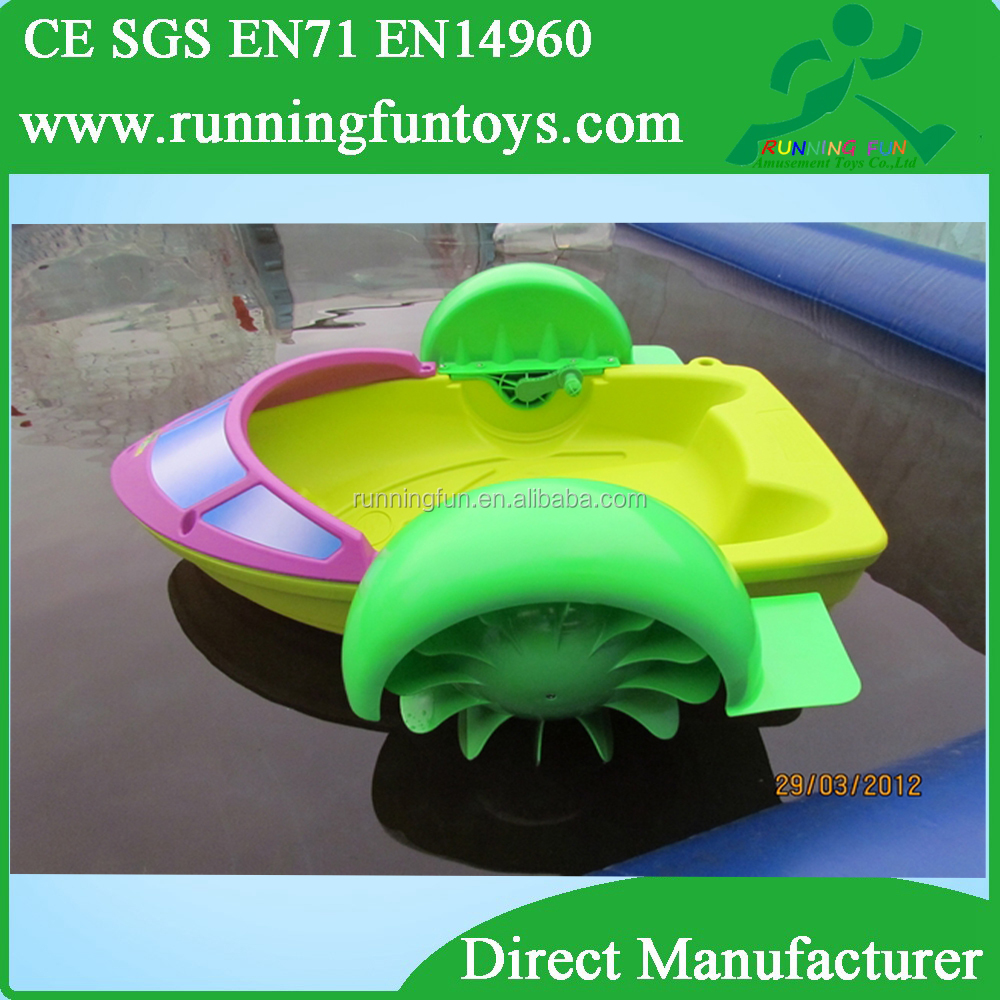 Promotion min paddle wheel boad, foot paddle boats