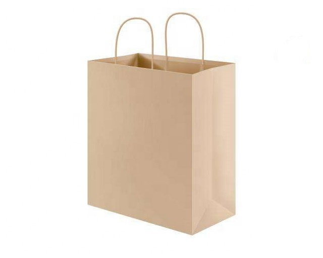 Customized Kraft Brown Paper Bag for Shopping Gift Jewelry <strong>Promotion</strong>