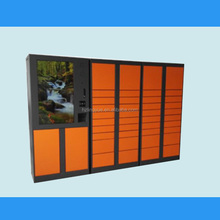 Customized public post intelligent Parcel delivery locker with touch screen