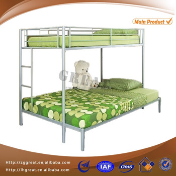 Great new design metal bunk bed/steel double decker bed firniture