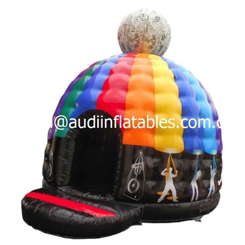 inflatable Glitter Disco Dome bouncy castles for sale