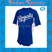blue plain authentic american flag baseball jersey