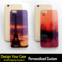 Factory printing custom designed logo cheap hard clear transparent PC cell phone case for iPhone 5