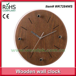 Woodpecker wooden walll watch modern design clock glass wall clock