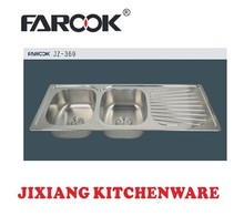 114x48cm restaurant kitchen equipment stainless steel kitchen sink