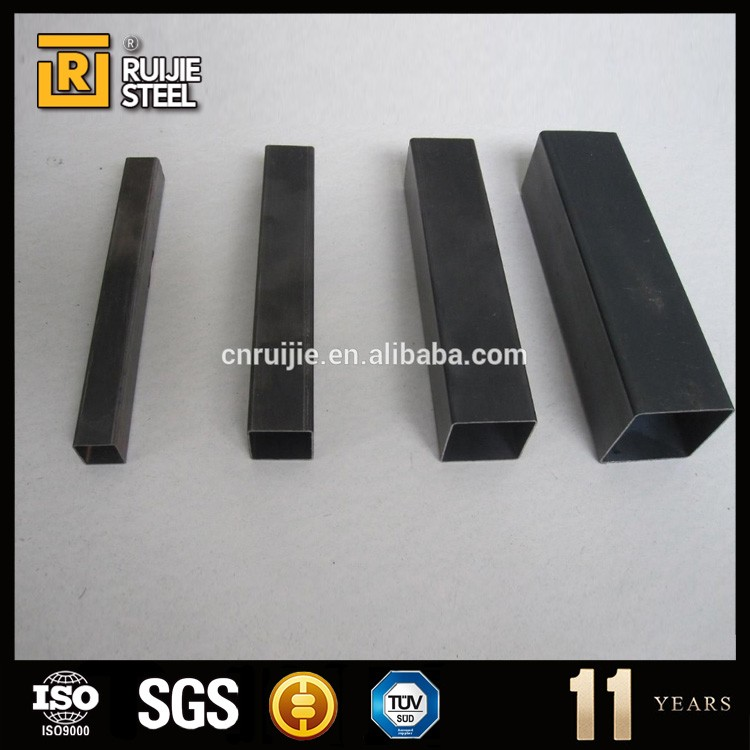 building materials fob price list furniture black steel pipe made in China