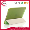 green color case smart cover for ipad mini 4 PU folding sleeve Newest pad protective
