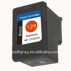 Ink cartridge for HP C9364H(129) Black