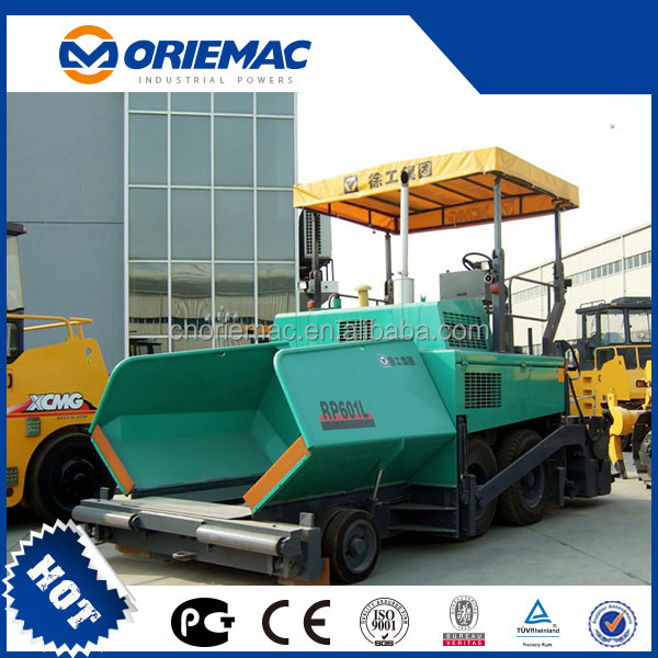 USED PRODUCT XCMG 8M Asphalt Concrete Paver RP802 WITH CHEAP PRICE