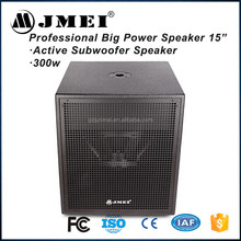 Professional pro Auto Audio Subwoofer High Power Horn sub Active loud speaker