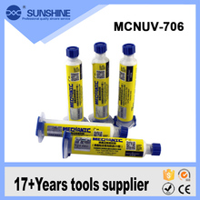 High Quality Milky White Unique Frame Seal Backlight Adhesive Uv Glue For Preventing Water Inlet
