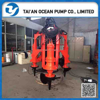 vertical stainless steel centrifugal submersible slurry pump