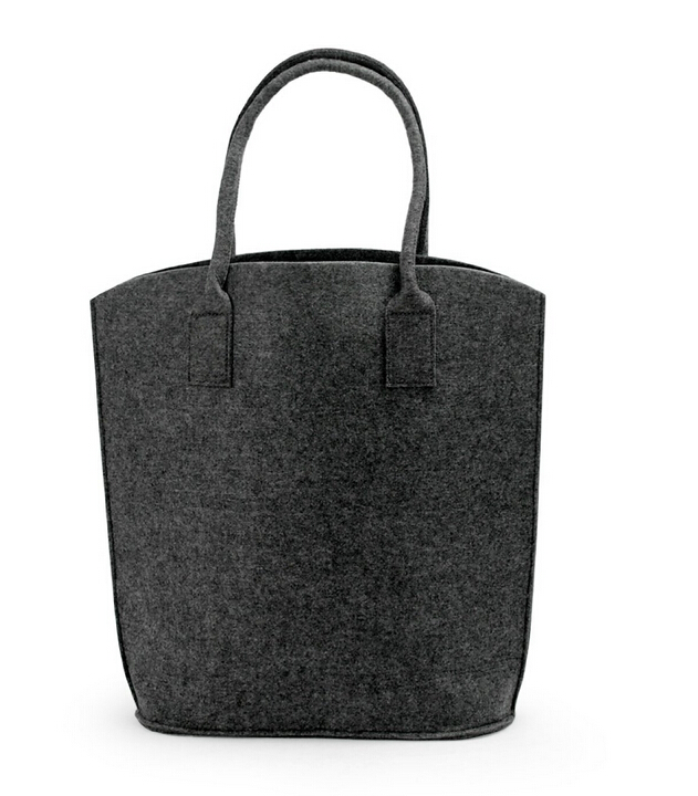 Eco friendly felt shopping tote bag