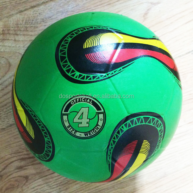 Newest design high quality futbol calcio soccer balls, rubber soccer ball
