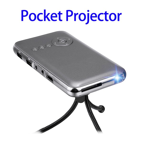 Home Theater Mini Projector, Portable Pocket Latest Projector Mobile Phone