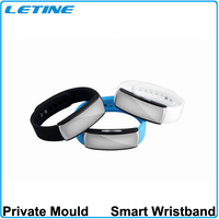2015 Mirror Oled screen bluetooth 4.0 smart bracelet wearable devices health wristband pedometer bluetooth smart bracelet